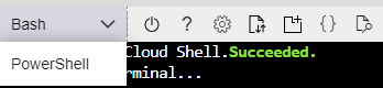 Cloud Shell prompt